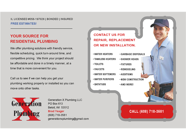 Plumbing-Services Self-Mail-Flyer_8x5